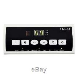 Haier Portable 8,000 BTU AC Air Conditioner Unit with Remote, White (For Parts)