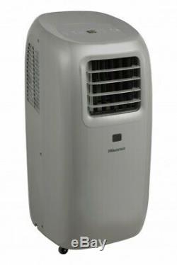 Hisense 10,000 BTU ASHRAE Ultra-Slim Portable Air Conditioner with Remote