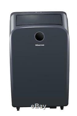 Hisense 12,500 115-Volt Portable Air Conditioner with Heat and Remote