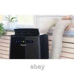 Honeywell 14000 BTU Portable Air Conditioner Dual Hose with Remote Black