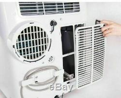 Honeywell HL12CESWK 12,000 BTU Portable Air Conditioner A/C Unit White/Black
