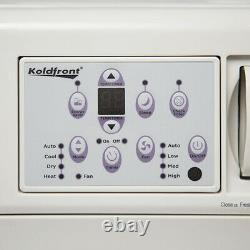 Koldfront WAC25001W 25000 BTU 208/230V Window Air Conditioner White