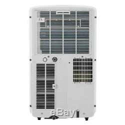LG 10,200 BTU ASHRAE 115-Volt Portable Air Conditioner with Remote, White