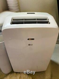 LG 10,200 BTU Portable Air Conditioner with Remote Control, White (LP1017WSR)