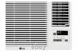 LG 115V 2-Speed 7,500 BTU Cool & 3,850 BTU Heat Window Air Conditioner