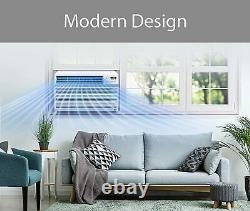 LG 12,000 BTU 115-V Window Air Conditioner with Remote, White