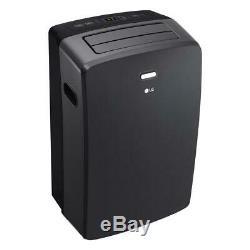 LG 12,000 BTU ASHRAE 115-Volt Portable Air Conditioner with Remote, Gray