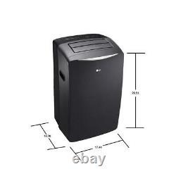 LG 14,000 BTU (8,000 BTU DOE) Portable Air Conditioner with Window Kit