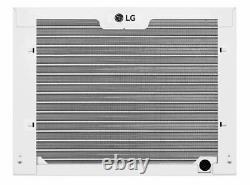 LG 7,500 BTU Cool + Heat 3,850 BTU Window Air Conditioner