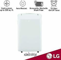 LG 8,000 BTU (5,500 BTU DOE) Portable Air Conditioner with Dehumidifier, LP0817WSR