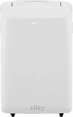 LG 8,000 BTU ASHRAE 115-Volt Portable Air Conditioner with Remote, White