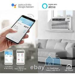 LG Electronics ENERGY STAR 10000 BTU 115-Volt Window Air Conditioner with Wi-Fi