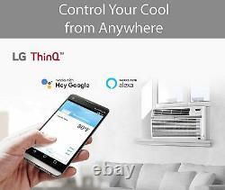 LG Energy Star 12,000 BTU 115V Window Air Conditioner with Wi-Fi, LW1217ERSM