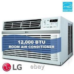 LG LW1216ER 12,000 BTU 110V Window A/C Remote & Window Accessories Included