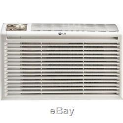 LG LW5016 5000 BTU Manual Controls Window Air Conditioner, White