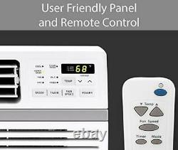 LG Mounted Wi-Fi 10,000 BTU Smart Window Air Conditioner, Cools up to 450 Sq. Ft