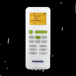 Pioneer 12,000 BTU 21.5 SEER 230V Ductless Mini-Split Air Conditioner Heat Pump
