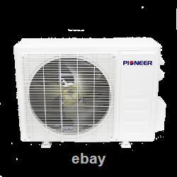 Pioneer 30,000 BTU 18 SEER 230V Ductless Mini-Split Air Conditioner Heat Pump