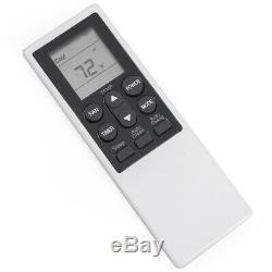 Portable 14000 BTU Air Conditioner Dehumidifier AC Fan LCD + Window Kit- White