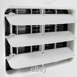 Portable 8000 BTU AC Air Conditioner Dehumidifier Fan A/C Unit with Remote White