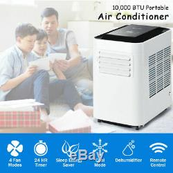 Portable Air Conditioner 10000BTU AC Unit & Dehumidifier LCD w Remote Control