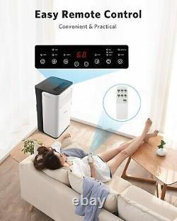 Portable Air Conditioner 8000 BTU Portable AC with Cooler Dehumidifier Fan