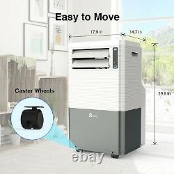 Qomfy 4 in 1 Portable Air Conditioner with Heat 14,000 BTU ASHRAE/ 8,000 BTU DOE