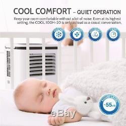 Rollicool 14000 BTU Portable Air Conditioner/Dehumidifier with App & Voice Control