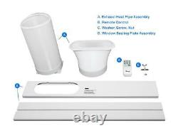Rosewill Portable Air Conditioner Fan & Dehumidifier, 3-in-1 Cool / Fan / Dehumi