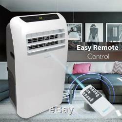 SERENE-LIFE 10,000 BTU Portable Air Conditioner Dehumidifier A/C Fan + Remote