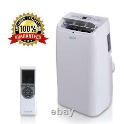 SERENE-LIFE 12,000 BTU Portable Air Conditioner Dehumidifier A/C Fan + Remote