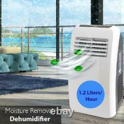 SERENE-LIFE 8,000 BTU Portable Air Conditioner Dehumidifier A/C Fan (NO REMOTE)