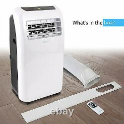 SereneLife 325 Square Feet 10000 BTU Air Conditioner/Heater with Remote(For Parts)