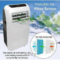 SereneLife SLACHT108 325 Square Feet 10000 BTU Air Conditioner/Heater with Remote