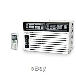 Soleus 8,000 BTU 115-Volt 3-Speed Window Air Conditioner with Remote