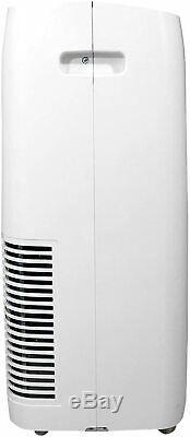 Soleus Air 10,000 BTU ASHRAE Portable Air Conditioner with Remote, White