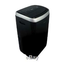 Soleus Air 14,000 BTU ASHRAE Portable Air Conditioner with Heat, Black