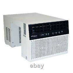 Soleus Air 8000 BTU Window Sill Saddle Air Conditioner- Low Profile Open Box