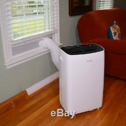 Soleus Air 8,000 BTU ASHRAE Portable Air Conditioner with Remote, White