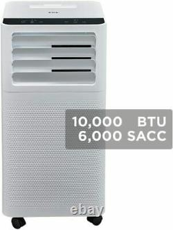 TCL 10000 BTU 250 sq. Ft. Portable Air Conditioner with Remote Control