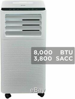 TCL 8,000 BTU 2-Speed Portable Air Conditioner with Dehumidifier