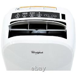 Whirlpool 14,000 BTU Single-Exhaust Portable Air Conditioner withRemote, WHAP141AW