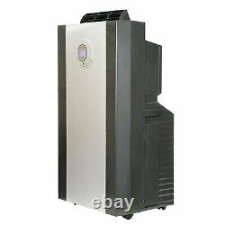 Whynter 14000 BTU Dual Hose Portable Air Conditioner with3M Antimicrobial Filter