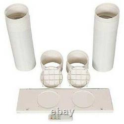 Whynter 14,000 BTU Dual Hose Portable Air Conditioner Dehumidifier ARC-14S