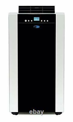 Whynter ARC-14S 14000 BTU Dual Hose Portable Air Conditioner Dehumidifier Fan