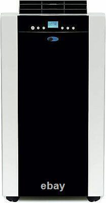 Whynter ARC-14S 14,000 BTU Dual Hose Portable Air Conditioner, Dehumidifier, Fan