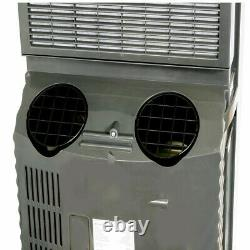 Whynter Portable Air Conditioner 14000 BTU Dual Hose 3 Speed Dehumidifier Remote