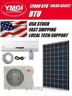 YMGI 12000 BTU Solar Assist Ductless Mini Split Air Conditioner with HP 3 Pack