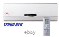 YMGI 12000 BTU Solar Assist Ductless Mini Split Air Conditioner with HP NAQ582