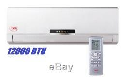 YMGI 12000 BTU Solar Hybrid Ductless Mini Split Air Conditioner with Solar panel